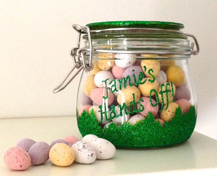 20 best personalised hand painted glasses images on pinterest lovely easter gifts glitter sweets jars personalised with name or short message great filled negle Choice Image