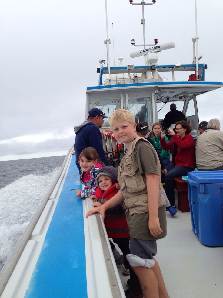 Fun @ Bob's Deep Sea Fishing in North Rustico PEI