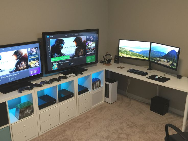 The 25 Best Gaming Desk Ideas On Pinterest Gaming