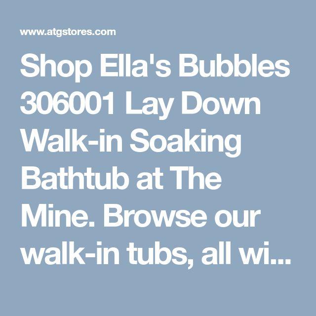 Elite Lay Down Walk In Bath Tub   Lay Down Walk In Bathtub