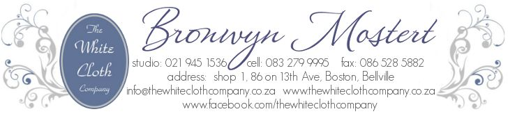 email signature for The White Cloth Company. logo was provided, we turned it into a e-signature