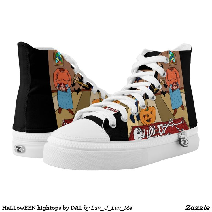 HaLLowEEN hightops by DAL