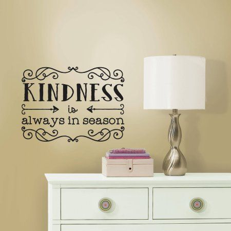 Purchase The RoomMates Kindness Quote Peel And Stick Wall Decals At An  Always Low Price From Part 40