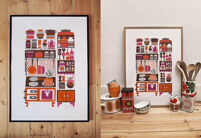 Gorgeous print by Sanna Annukka - very me!