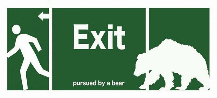 Exit, Pursued by a Bear: In which I discuss direction of the blog and possible rebranding.