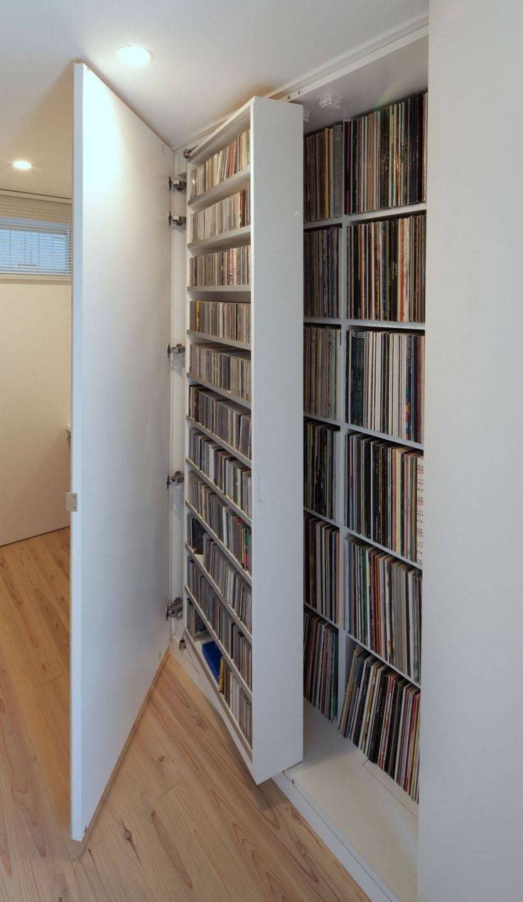 House in Yakumo by Yaita and Associates  19. 78 Best ideas about Cd Storage on Pinterest   Cd organization  Dvd