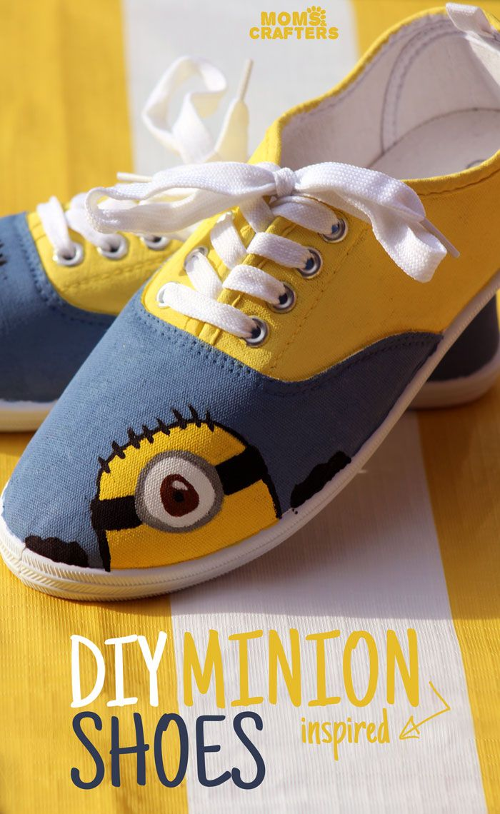 591 best margo edith agnes and gru and minions too images on diy minion shoes solutioingenieria Gallery