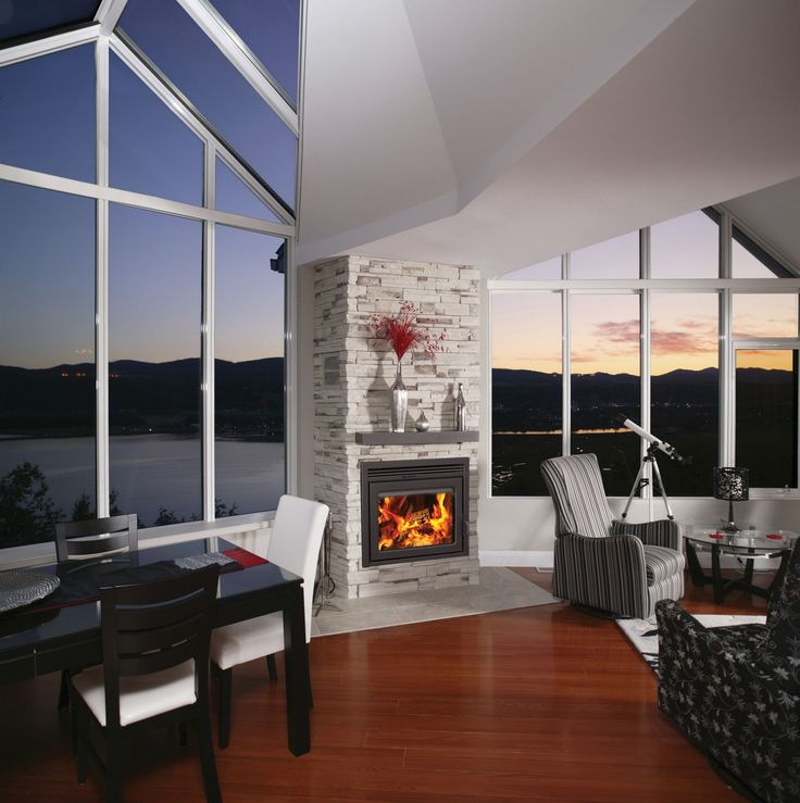 Fireplace Design indoor fireplaces : The 25+ best Zero clearance fireplace ideas on Pinterest
