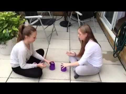 Me and Lily doing the cup song together watch now!! - YouTube