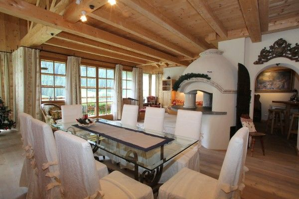 Elegant and cosy living room in the #mountain - #Trentino