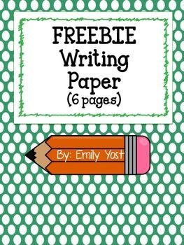 writing paper freebie reading and writing pinterest writing