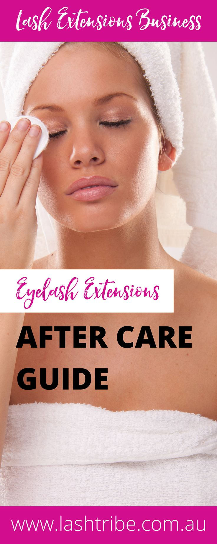 Eyelash extensions care tips:  If you are a Lash Tech that had proper training you will know the importance of cleaning your lash extensions. If you are not really sure then hopefully you will have a better understanding on how to clean your eyelash extensions with this blog post and video at http://lashtribe.com.au/2017/01/27/how-to-clean-your-eyelash-extensions/   Lash Care Tips