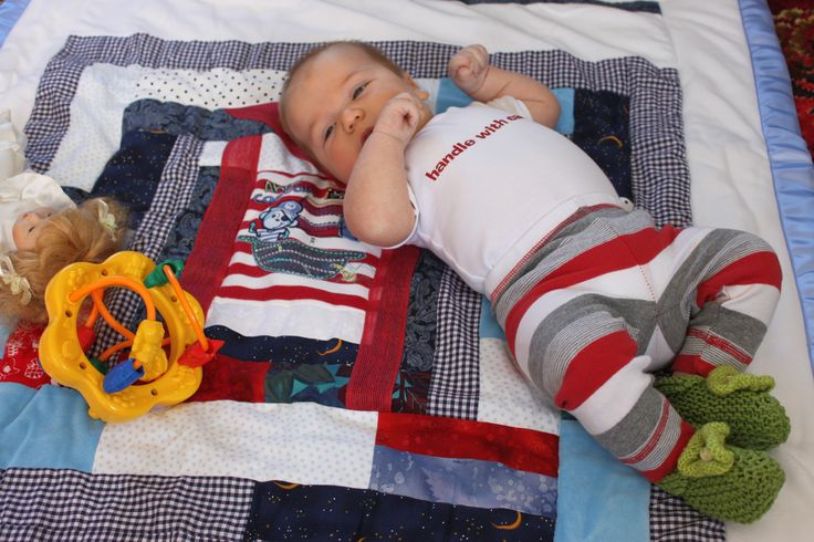 Cot Quilts also make great play mats!  Tee Tee's Designs on Facebook