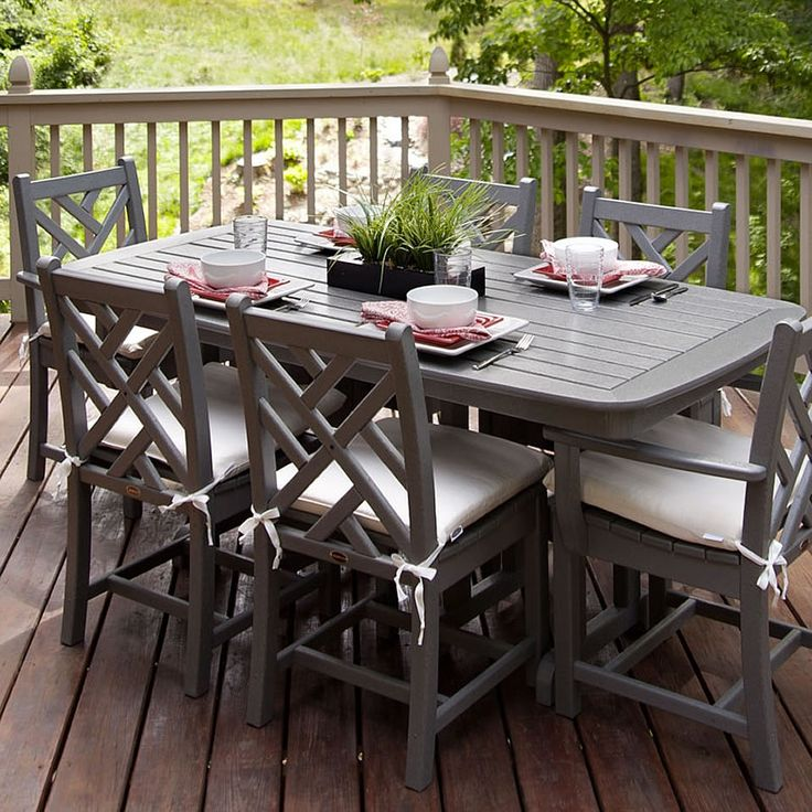 Picnic Table Dining Room: 1000+ Images About POLYWOOD Tables On Pinterest