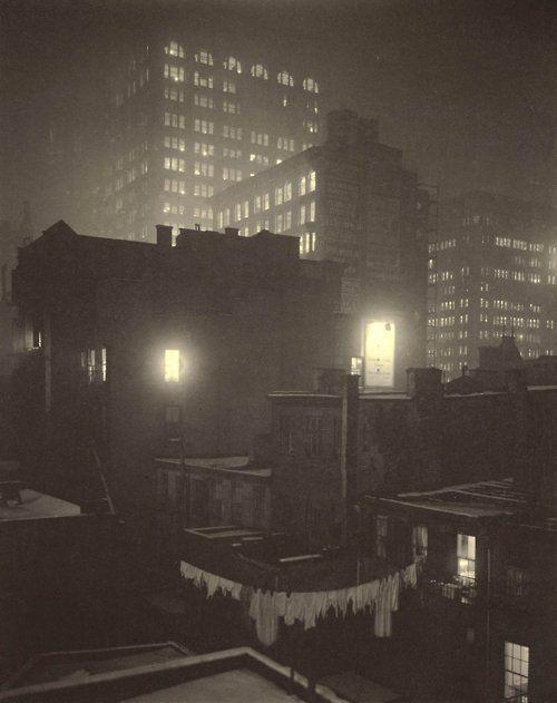 Alfred Stieglitz, From the Back Window, 1915