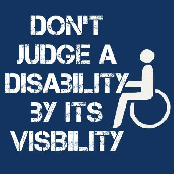 Invisible illnesses like Fibromyalgia, M.E. & Chronic Fatigue Syndrome and Lyme Disease can be just as disabling as more visible disabilities.