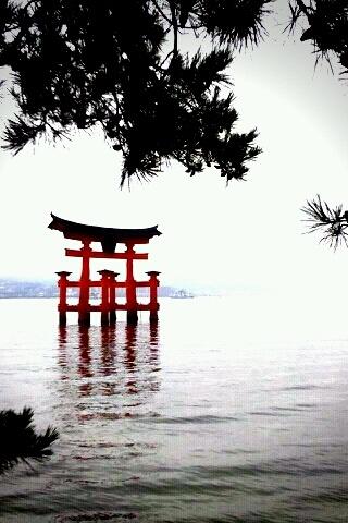 Miyajima O-torii in Hiroshima