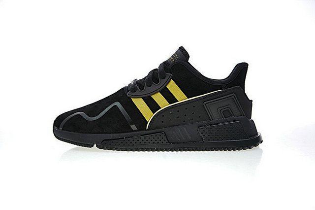 739dcd226c8742 Adidas EQT Cushion ADV Black Yellow Bb6212 New Arrival Shoe