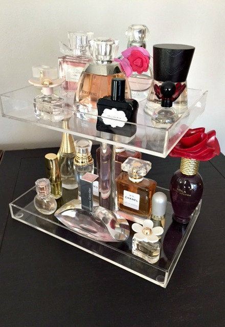 Hey, I found this really awesome Etsy listing at https://www.etsy.com/listing/233018694/perfume-storage-holder-3-tiers-clear $40