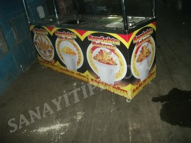 Çubukta patates +Bardakta Mısır + Bardakta Makarna Standı » - Sanayi tipi