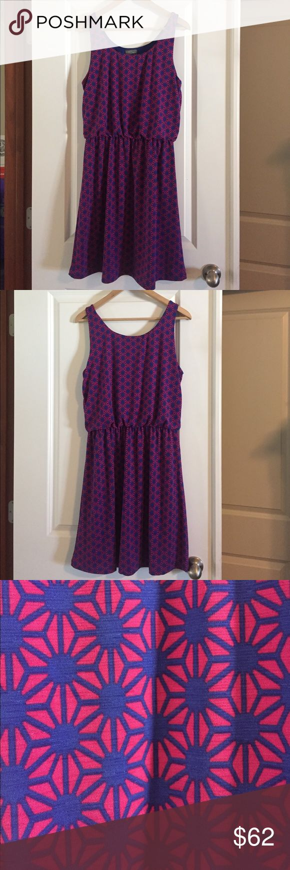 NWT Stitch Fix Dress NWT Market and Spruce dress from Stitch Fix. Great colors for spring and summer!  Would look adorable under a denim jacket.  Measures 38 inches from shoulder to bottom. Price is firm unless bundled. market and spruce Dresses Midi