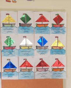 Sailboat Craft Idea For Kids