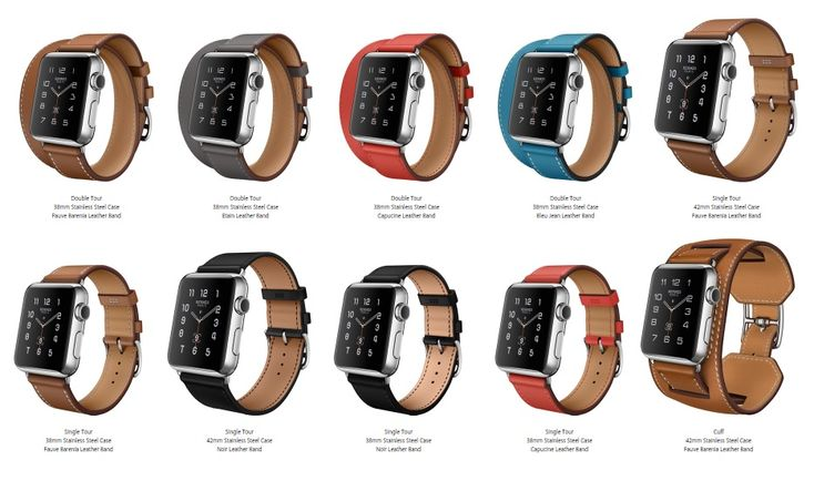 Apple Watch Hermès collection will have 3 different