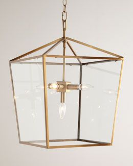 H79S0 Regina-Andrew Design Camden Five-Light Lantern Horchow