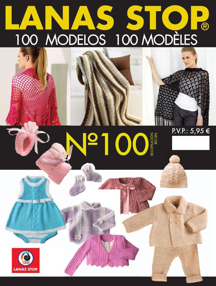 Lanas stop 100 Revista perfecta ... chales, picos ideales. También ropa para bebe y algunas mantas. Os va ha encantar