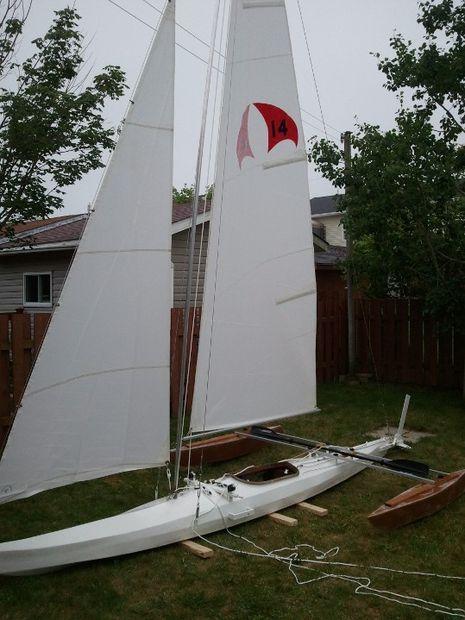 how to build a catamaran sailboat