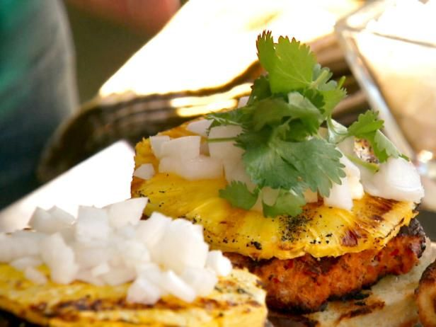 Get Burger Al Pastor Recipe from Food Network