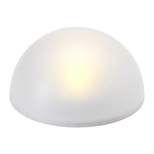 Best 25 solar powered outdoor lights ideas on pinterest for Ikea orb light