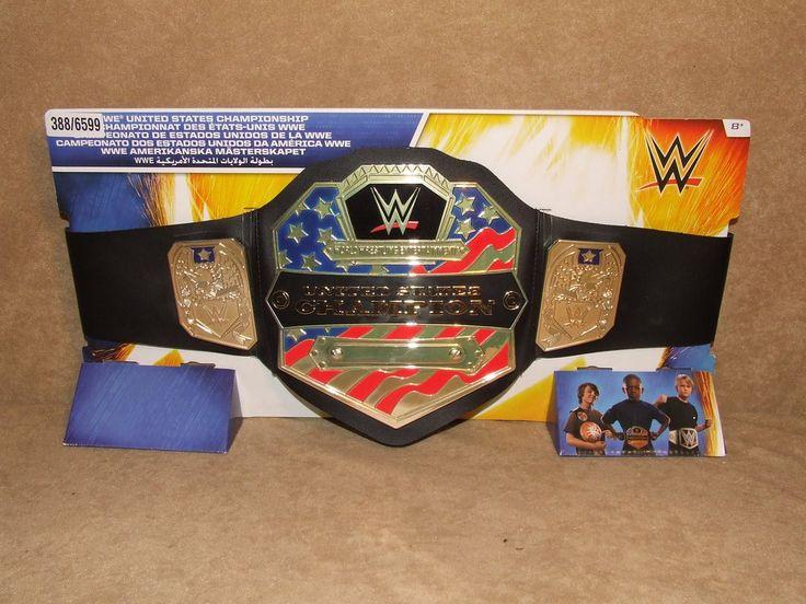 WWE United States Championship Champion Belt By Mattel