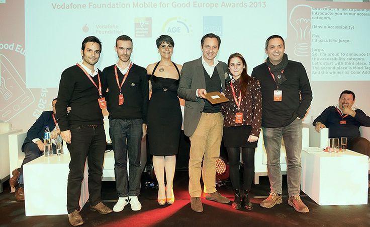 Aplicação portuguesa ColorADD vence prémio internacional da Fundação Vodafone