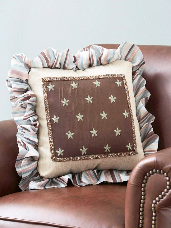 Ideas For Pillow Trim: 18 best Fun Pillows images on Pinterest   Diy pillows  Pillow    ,