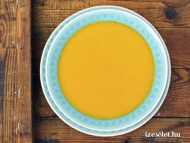 Gyömbéres, narancsos sárgarépakrémleves - Receptek | Ízes Élet - Gasztronómia a mindennapokra