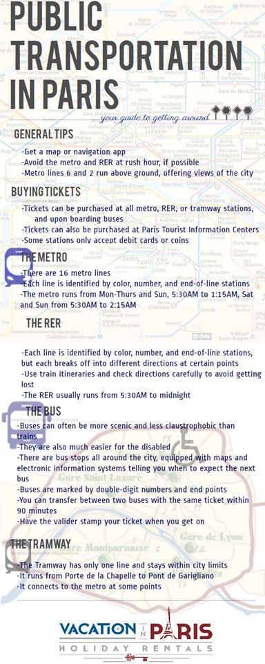 Public Transportation in Paris #Paris #travel