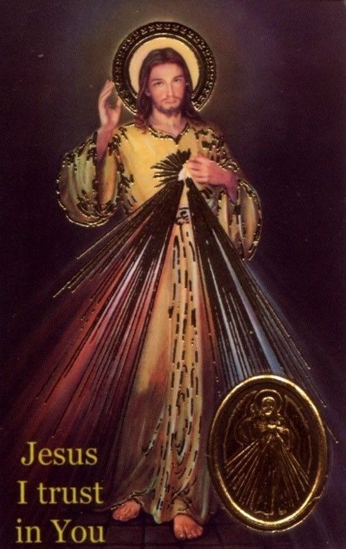 Chaplet Of The Divine Mercy Wallet Prayer Card, See Over 175 Items In Our Store