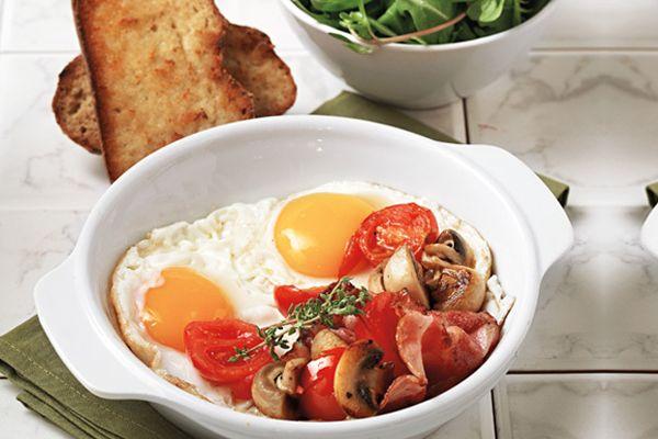 Συνταγή για απίθανα μελάτα τηγανητά αυγά!