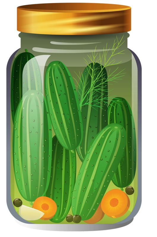 is a pickle a fruit fruit clipart