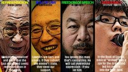 Creating Chinese heros dissidents and saviors to support Western cause
