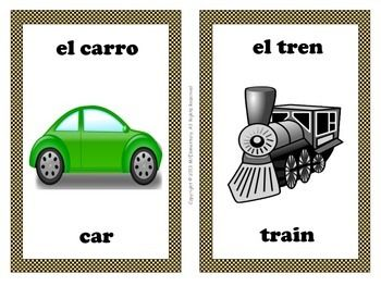 20 best images about transportation in spanish on pinterest spanish vocabulary worksheets and. Black Bedroom Furniture Sets. Home Design Ideas