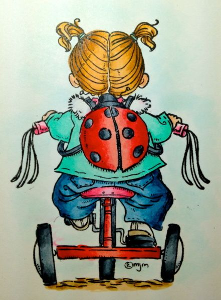 Oh the Places You'll Go! (this is so dang cute! I think I find the cutest ladybug pic ever....and then another one pops up!)