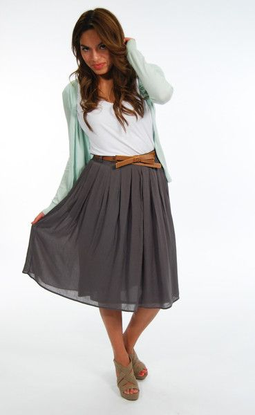 17 Best images about The 18 Months on Pinterest | Full midi skirt ...