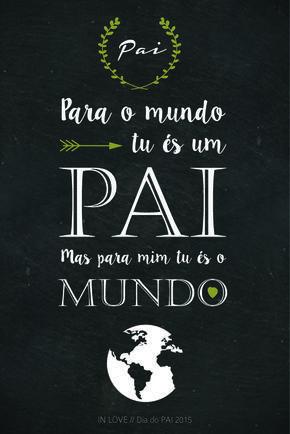 Dia do Pai com Amor // Free Printable //                                                                                                                                                                                 Mais