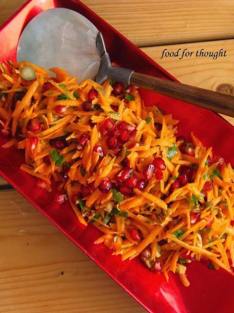 Food for thought: Σαλάτα με Καρότο και Ρόδι