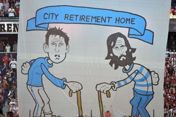 ny red bulls Fans | New York Red Bulls fans troll Frank Lampard and Andrea Pirlo with ...