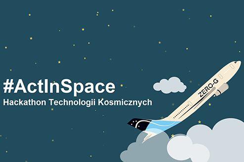 """Podejmij wyzwanie """"from space to earth"""" i  już 20 maja w Krakowskim Parku Technologicznym zawalcz o lot w stanie nieważkości samolotem ZERO-G.  Wydarzenie odbywa się pod patronatem medialnym Link to Poland. #Kraków #Linktopoland #Kosmos #Technologie #ActInSpace"""