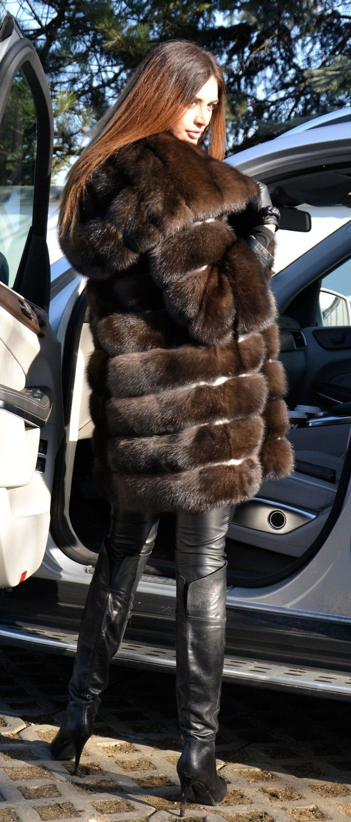 Russian Dark Barguzin Sable fur. Siberian Sable fur. Fur Fashion Trends.  Fur…