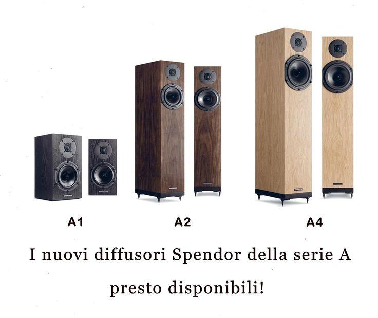 Nuovi Diffusori Spendor serie A